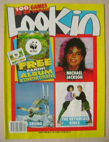 <!--1989-03-18-->Look In magazine - 18 March 1989