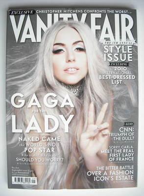<!--2010-09-->Vanity Fair magazine - Lady Gaga cover (September 2010)