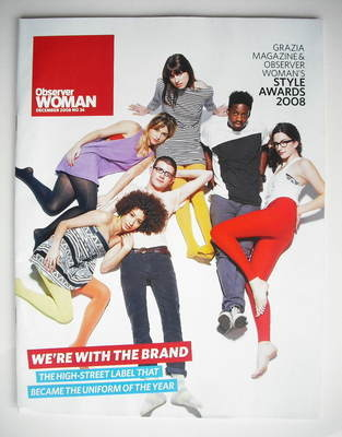 Observer Woman magazine - We're With The Brand cover (December 2008)