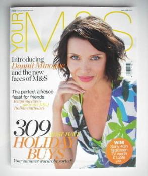 M&S magazine - Dannii Minogue cover (May/June 2010)