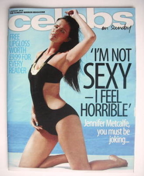 Celebs magazine - Jennifer Metcalfe cover (1 August 2010)