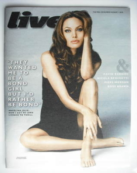 Live magazine - Angelina Jolie cover (1 August 2010)