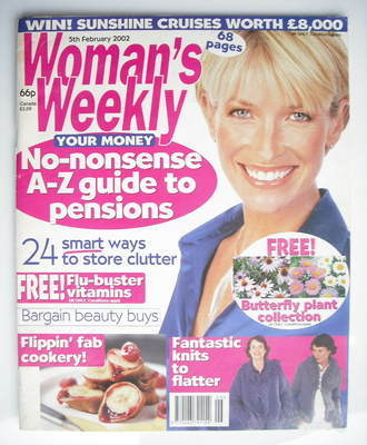 <!--2002-02-05-->Woman's Weekly magazine (5 February 2002)