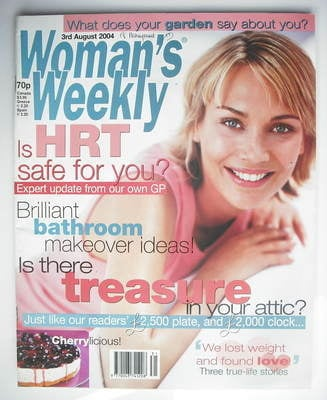 <!--2004-08-03-->Woman's Weekly magazine (3 August 2004)