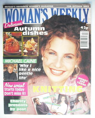 <!--1992-10-13-->Woman's Weekly magazine (13 October 1992)