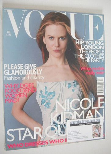 <!--1998-12-->British Vogue magazine - December 1998 - Nicole Kidman cover