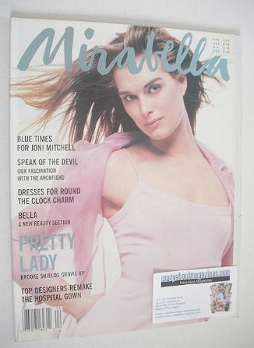 <!--1995-04-->Mirabella magazine - Brooke Shields cover (April 1995 - Issue