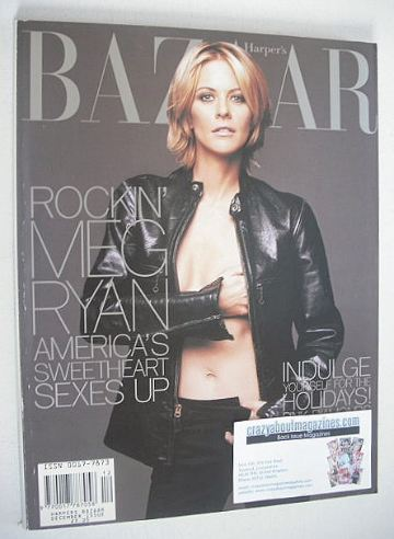 <!--1998-12-->Harper's Bazaar magazine - December 1998 - Meg Ryan cover