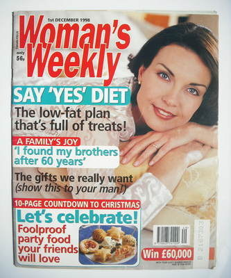 <!--1998-12-01-->Woman's Weekly magazine (1 December 1998)