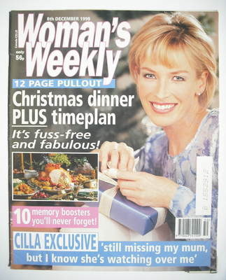 <!--1998-12-08-->Woman's Weekly magazine (8 December 1998)