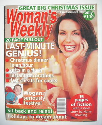 <!--1998-12-15-->Woman's Weekly magazine (15-22 December 1998)