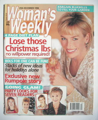 <!--1998-12-29-->Woman's Weekly magazine (29 December 1998)