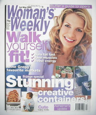 <!--2005-05-03-->Woman's Weekly magazine (3 May 2005)