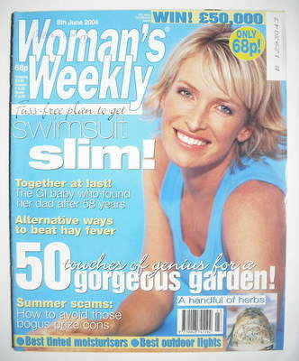<!--2004-06-08-->Woman's Weekly magazine (8 June 2004)