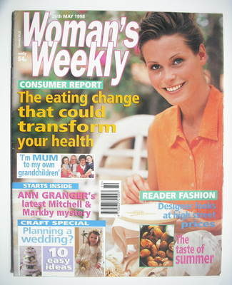 <!--1998-05-26-->Woman's Weekly magazine (26 May 1998)