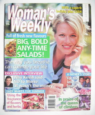 <!--1998-06-09-->Woman's Weekly magazine (9 June 1998)