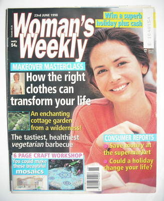 <!--1998-06-23-->Woman's Weekly magazine (23 June 1998)