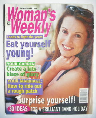 <!--1998-08-25-->Woman's Weekly magazine (25 August 1998)