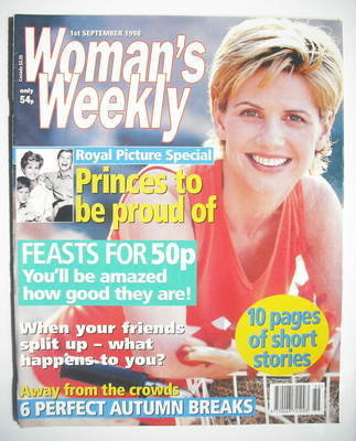 <!--1998-09-01-->Woman's Weekly magazine (1 September 1998)