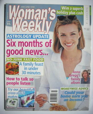 <!--1998-06-30-->Woman's Weekly magazine (30 June 1998)