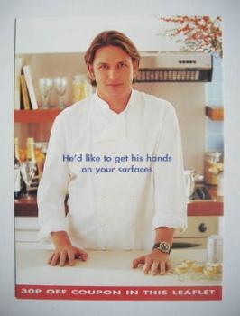 James Martin advertisement leaflet