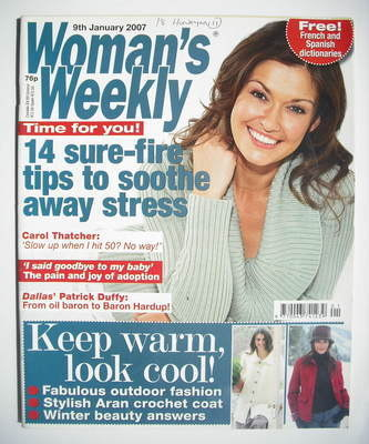 <!--2007-01-09-->Woman's Weekly magazine (9 January 2007 - British Edition)