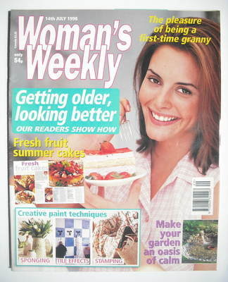 <!--1998-07-14-->Woman's Weekly magazine (14 July 1998)