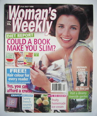 <!--1998-07-21-->Woman's Weekly magazine (21 July 1998)