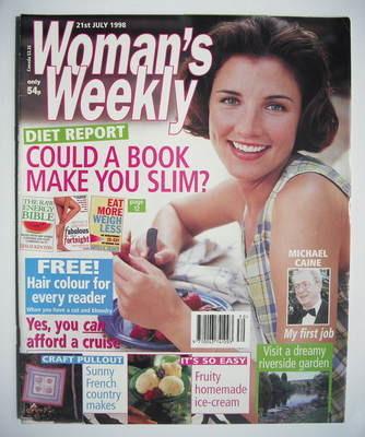 <!--1998-07-21-->Woman's Weekly magazine (21 July 1998)