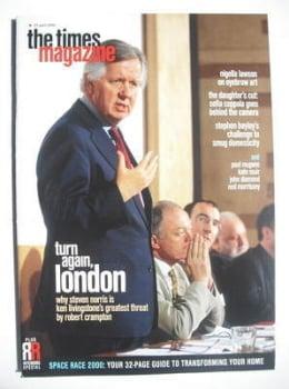 <!--2000-04-22-->The Times magazine - Steven Norris cover (22 April 2000)