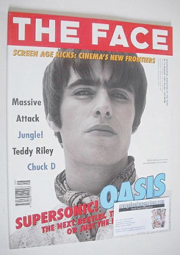 <!--1994-08-->The Face magazine - Liam Gallagher cover (August 1994 - Volum