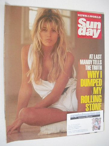 <!--1986-12-14-->Sunday magazine - 14 December 1986 - Mandy Smith cover