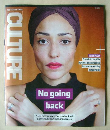 <!--2016-11-06-->Culture magazine - Zadie Smith cover (6 November 2016)