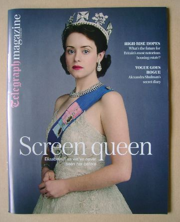 <!--2016-10-15-->The Daily Telegraph magazine - Claire Foy cover (15 Octobe