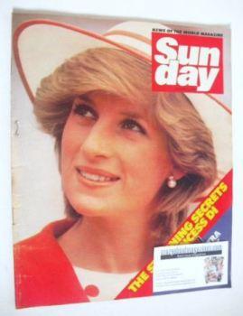Sunday magazine - 8 January 1984 - Princess Diana cover