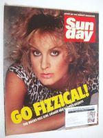 <!--1984-02-05-->Sunday magazine - 5 February 1984 - Jay Aston cover