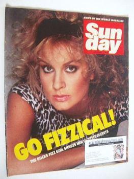 Sunday magazine - 5 February 1984 - Jay Aston cover