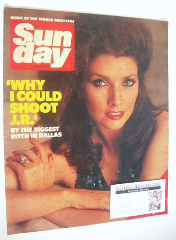<!--1984-05-20-->Sunday magazine - 20 May 1984 - Morgan Brittany cover