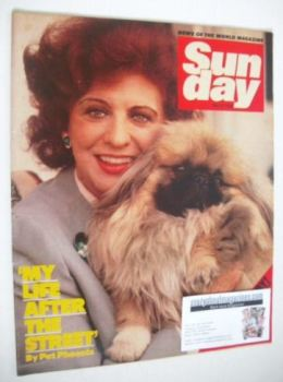 Sunday magazine - 27 May 1984 - Pat Phoenix cover