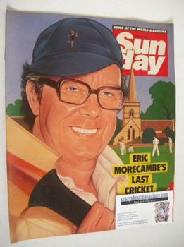 Sunday magazine - 10 June 1984 - Eric Morecambe cover