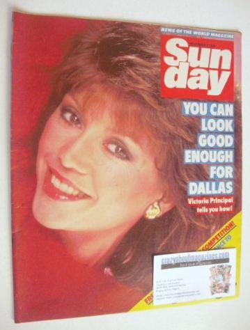 <!--1984-11-04-->Sunday magazine - 4 November 1984 - Victoria Principal cov