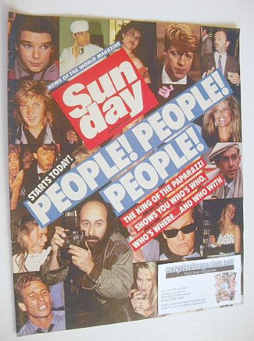 <!--1985-01-06-->Sunday magazine - 6 January 1985 - King Of The Paparazzi c