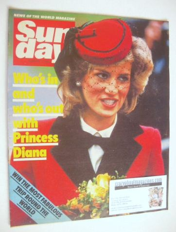 <!--1985-02-03-->Sunday magazine - 3 February 1985 - Princess Diana cover