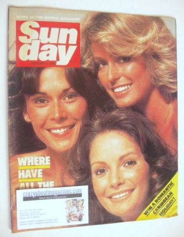 <!--1985-02-10-->Sunday magazine - 10 February 1985 - Charlie's Angels cove