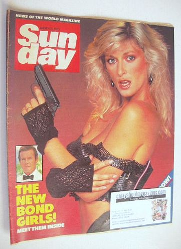 <!--1985-03-31-->Sunday magazine - 31 March 1985 - Sian Adey-Jones cover
