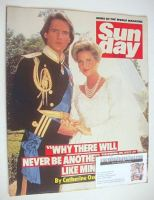 <!--1985-06-30-->Sunday magazine - 30 June 1985 - Michael Praed and Catherine Oxenberg cover