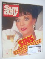 <!--1985-07-28-->Sunday magazine - 28 July 1985 - Joan Collins cover