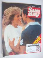 <!--1985-09-01-->Sunday magazine - 1 September 1985 - Prince Charles and Princess Diana cover