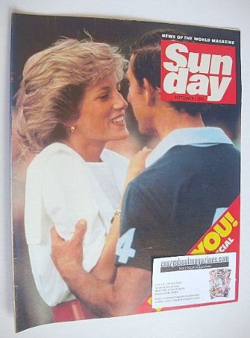 <!--1985-09-01-->Sunday magazine - 1 September 1985 - Prince Charles and Pr