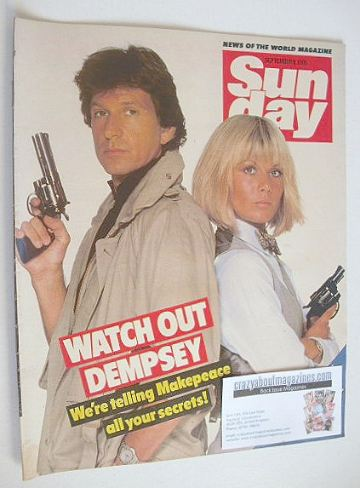 <!--1985-09-08-->Sunday magazine - 8 September 1985 - Michael Brandon and G